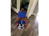 New child's beach chair