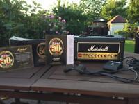 Marshall JVM1H 1 Watt Head - 50th Anniversary 1 Watt Valve Amp - Trade PX Part Exchange