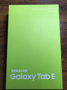 "Samsung Galaxy Tab E - 9.6"" 16GB WIFI White"