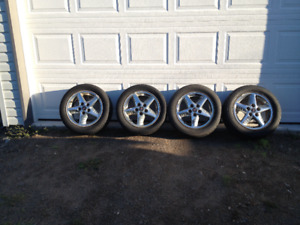 Pontiac Gran Prix tires and rims