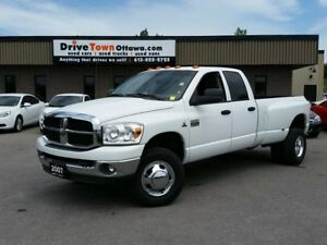 2007 Dodge Ram 3500 SLT QUAD CAB DUALLY 4X4 **CUMMINS DIESEL**