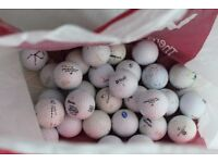 quality pickup golf balls - plenty to choose from