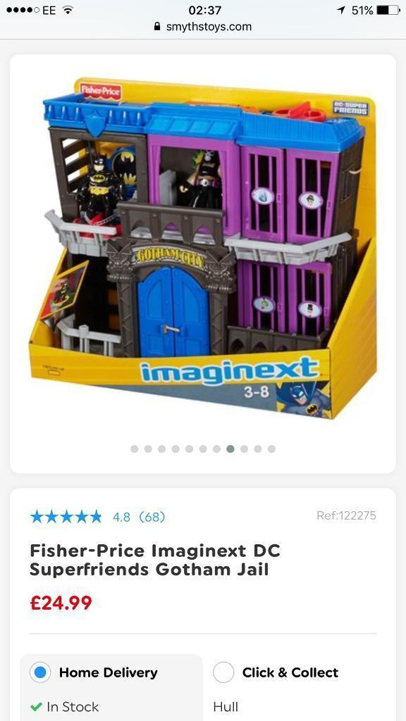 Imaginext Gotham jail brand new in box