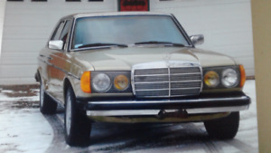 1985 Mercedes Turbo Diesel (300 series)