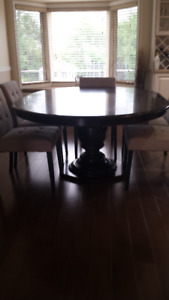 Paula Dean Pedestal Dining Room Set