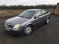 2002 52 VAUXHALL VECTRA 1.8 LS 5 DOOR - ONLY 1 FORMER KEEPER - OCT 2017 M.O.T!