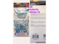 3D butterfly 🦋 sticker