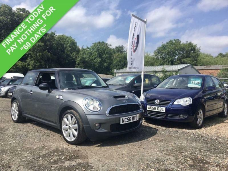 2007 56 MINI HATCH COOPER 1.6 COOPER S 3DR A/C 172 BHP PAN ROOF