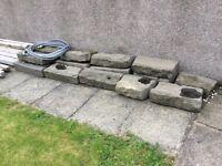 Large Edging Stone Blocks