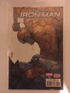 Infamous iron man #2 comic marvel english