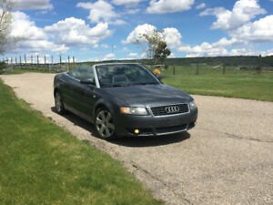 Motivated seller. 2006 Audi A4 1.8T Convertible...open to trades