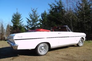 1963 Chevy ll Nova Convertable