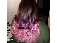 Mobile hair dresser, all type of hair extensions , brazilian blow dry 24h/7 days