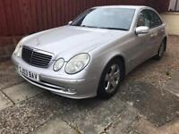 VERY GOOD CONDITION MERCEDES E200 COMPRESSOR MOT FULL YEAR FOR SALE £1699