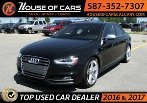 2013 Audi S4 3.0T Premium (S tronic) / Back up Camera /SunRoof