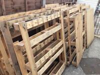 Free pallet frames