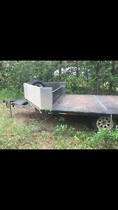 Steel Deck Trailer for sale