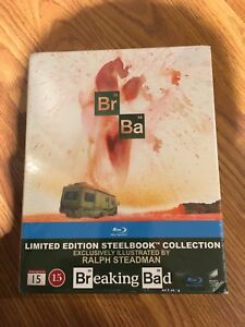 Breaking Bad Steelbook (Blu-ray) Complete Series Boxset