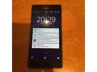 Sony Xperia Z3 phone cracked screen