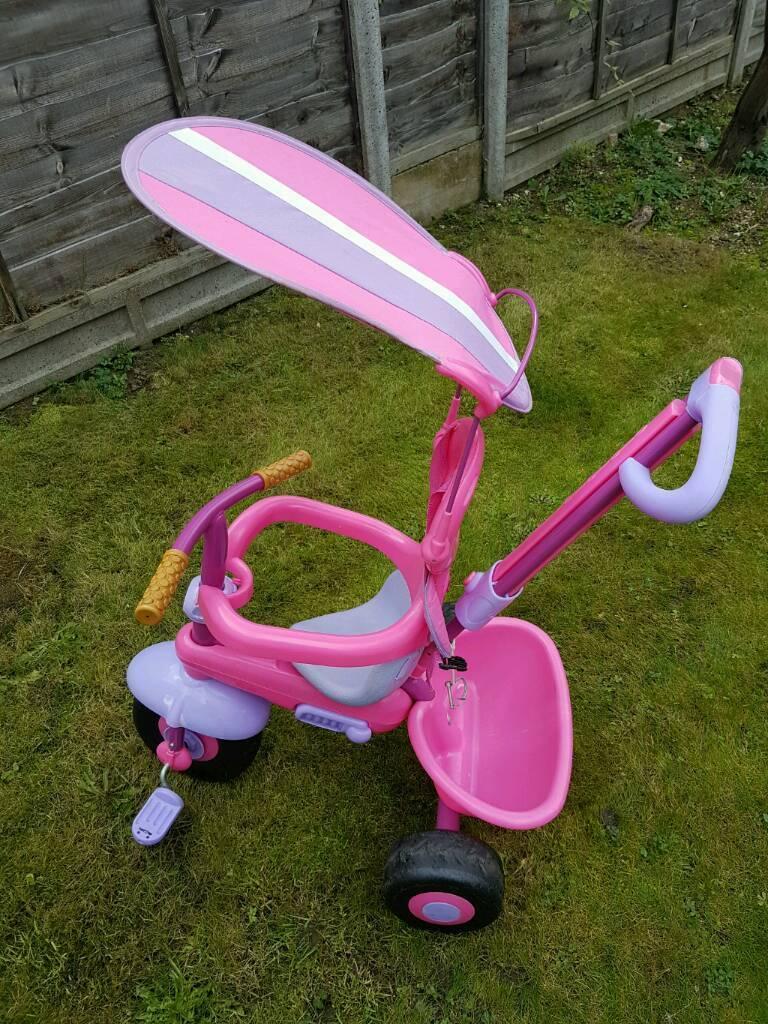 Girls 3 in 1 Trike
