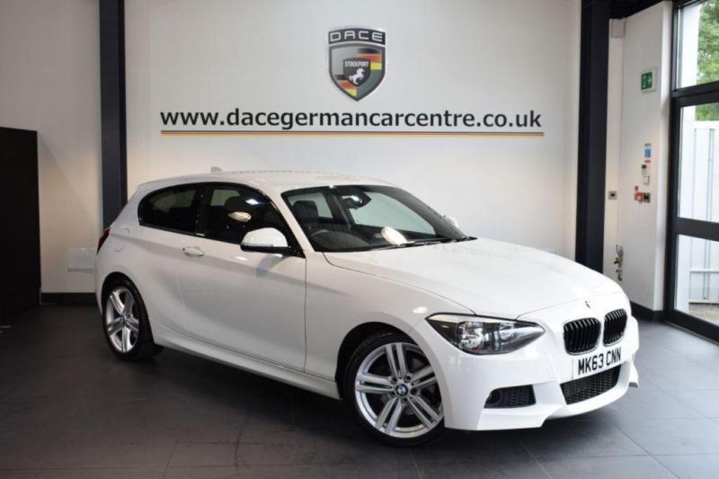 2013 T BMW 1 SERIES 2.0 125D M SPORT 3DR 215 BHP DIESEL