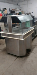 Commercial steam table. Excellent condition