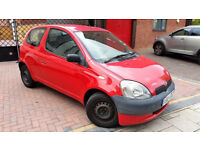 RED TOYOTA YARIS 1.0 HATCHABCK PETROL CHEAP INSURANCE NEW DRIVER CAR