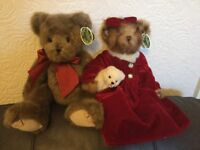 Bearington Collection 2 Gorgouse Bears with tags