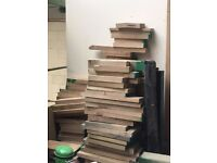 Wood Off Cuts, Oak - Turning DIY Craft Projects