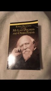 My Last Duchess, poems by Robert Browning