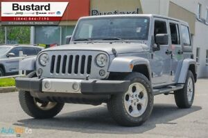 2014 Jeep Wrangler UNLIMITED SAHARA | NAV | HEATED SEATS |