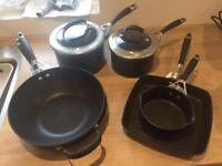 Circular Elite 3 Pans, Wok, Griddle & Frying Pan