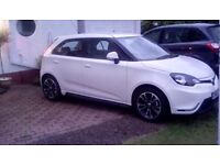 2016 66plate MG3vti white ,16inch alloy wheels 1.5 16v over 2years