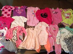 0-3 , 3-6 month girl clothes (yard sale lasalle)