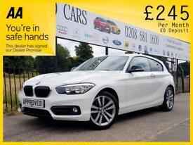 BMW 1 SERIES 1.5 116D SPORT 3d 114 BHP £££&po (white) 2016