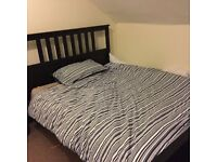 King Size Bed and Mattress For Sale - Both in Excellent Condition!