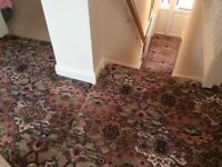 Axminster stair carpet
