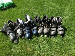 Roller blades. Typhoon Size 8, Aero Size 9, and Bauer Size 10 Al