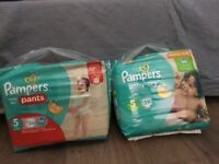Pampers Size 5 nappies un-opened