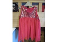 Monsoon pink and sequin top
