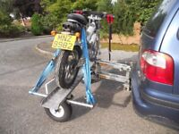 Easylifter Hydratrail Motorcycle Trailer