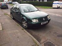 Volkswagen Bora 1.9 TDI Diesel 120 Bhp 2000 W reg excellent Car £280