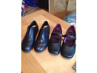 Black Work Shoes size 5