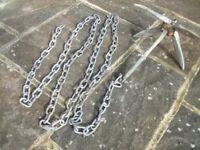 ANCHOR 3.5kg folding anchor + 4m chain