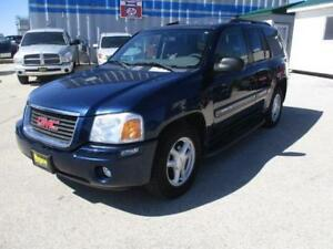 2004 GMC ENVOY SLE 4X4, SAFETY AND WARRANTY $5,450