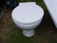 Toilet - Circular white