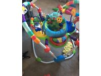 X2 baby Einstein jumperoo and play mat