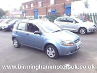 2006 (56 Reg) Chevrolet Kalos 1.2 SE 5DR Hatchback BLUE + LOW MILES