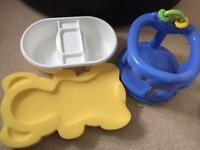 3 x Baby Bath Accessories
