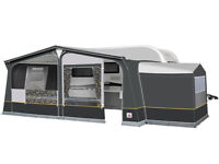 2017 Dorema Caravan Awning Annex - Unused in Charcoal